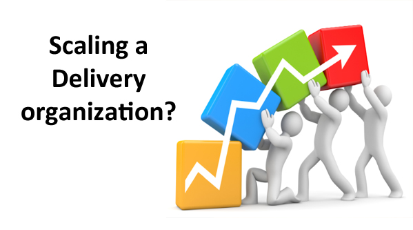 Scaling a delivery organisation?