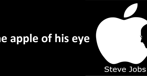 The apple of his eye