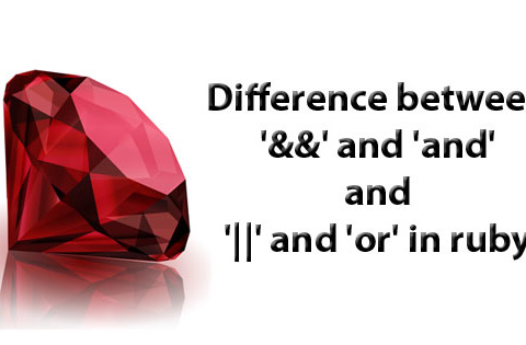 Difference between && and and