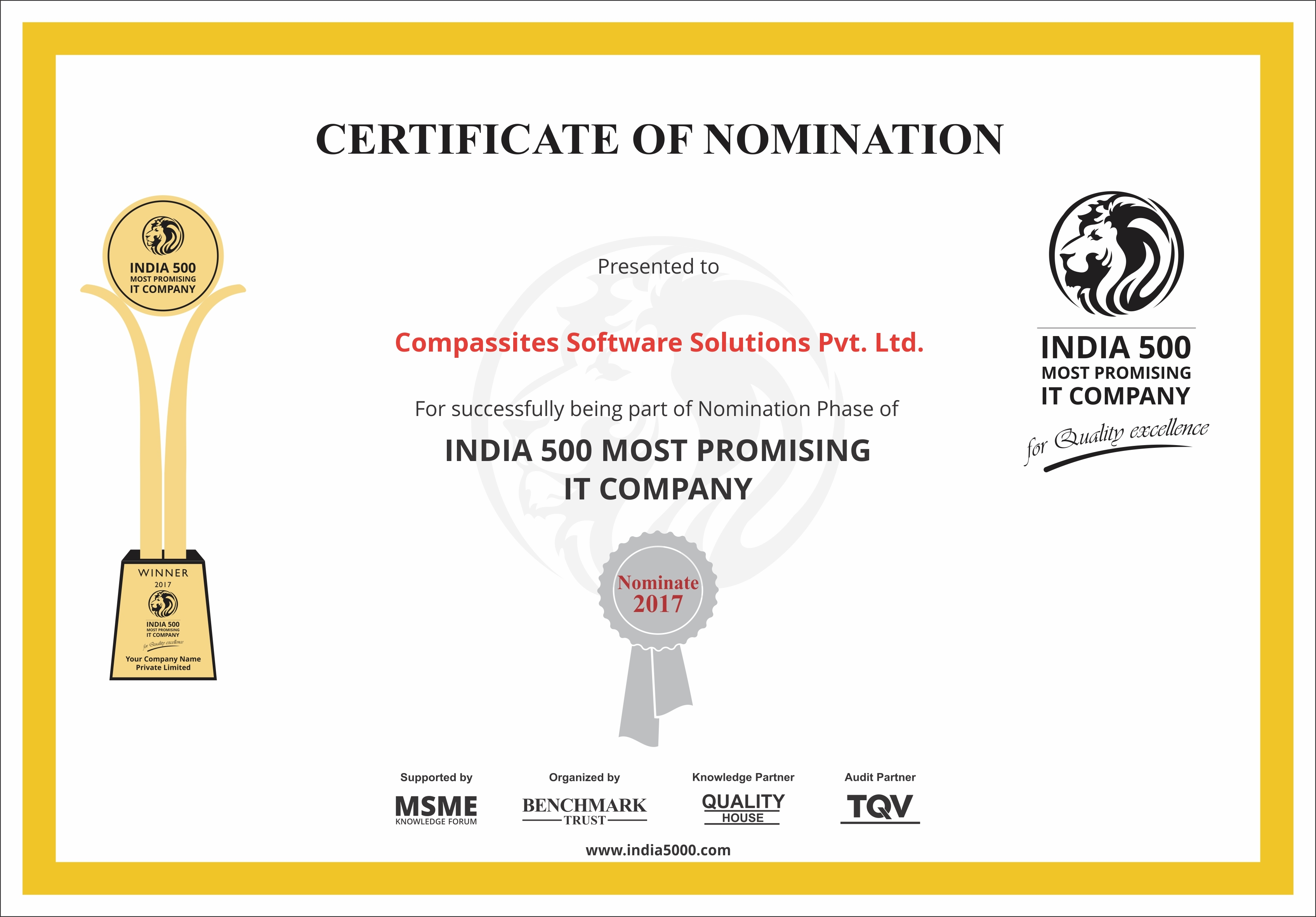 india-500-most-promising-it-company-2017